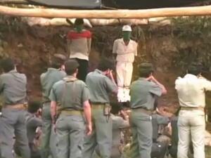【閲覧注意】グアテマラ共和国での「少女レイプ犯」公開処刑映像。