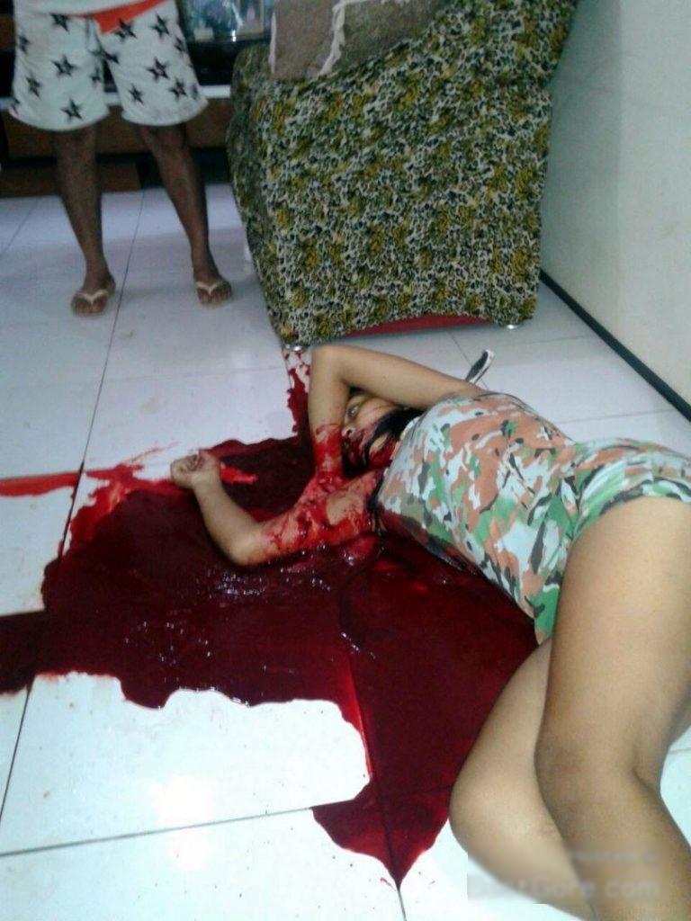 【閲覧注意】15歳の女性元カレにとんでもないところを刺されて死亡・・・(画像)・1枚目