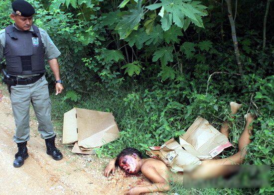 【閲覧注意】ブラジルニキ「レイプ気持ちよかったぁ、、、さてさっさと殺して捨てよっと。」← コレ。(画像)・1枚目