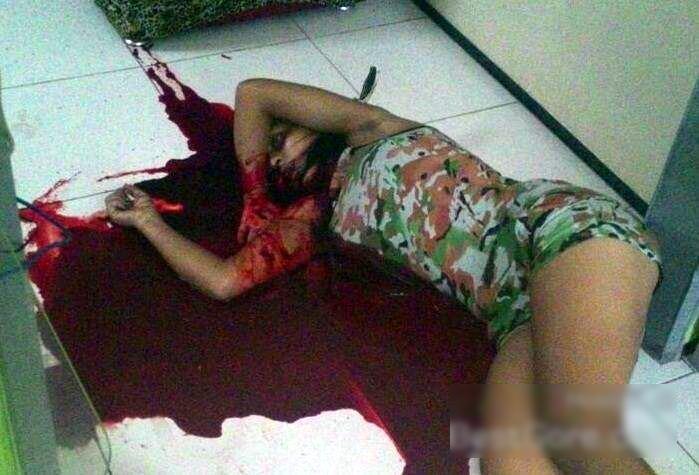 【閲覧注意】15歳の女性元カレにとんでもないところを刺されて死亡・・・(画像)・2枚目