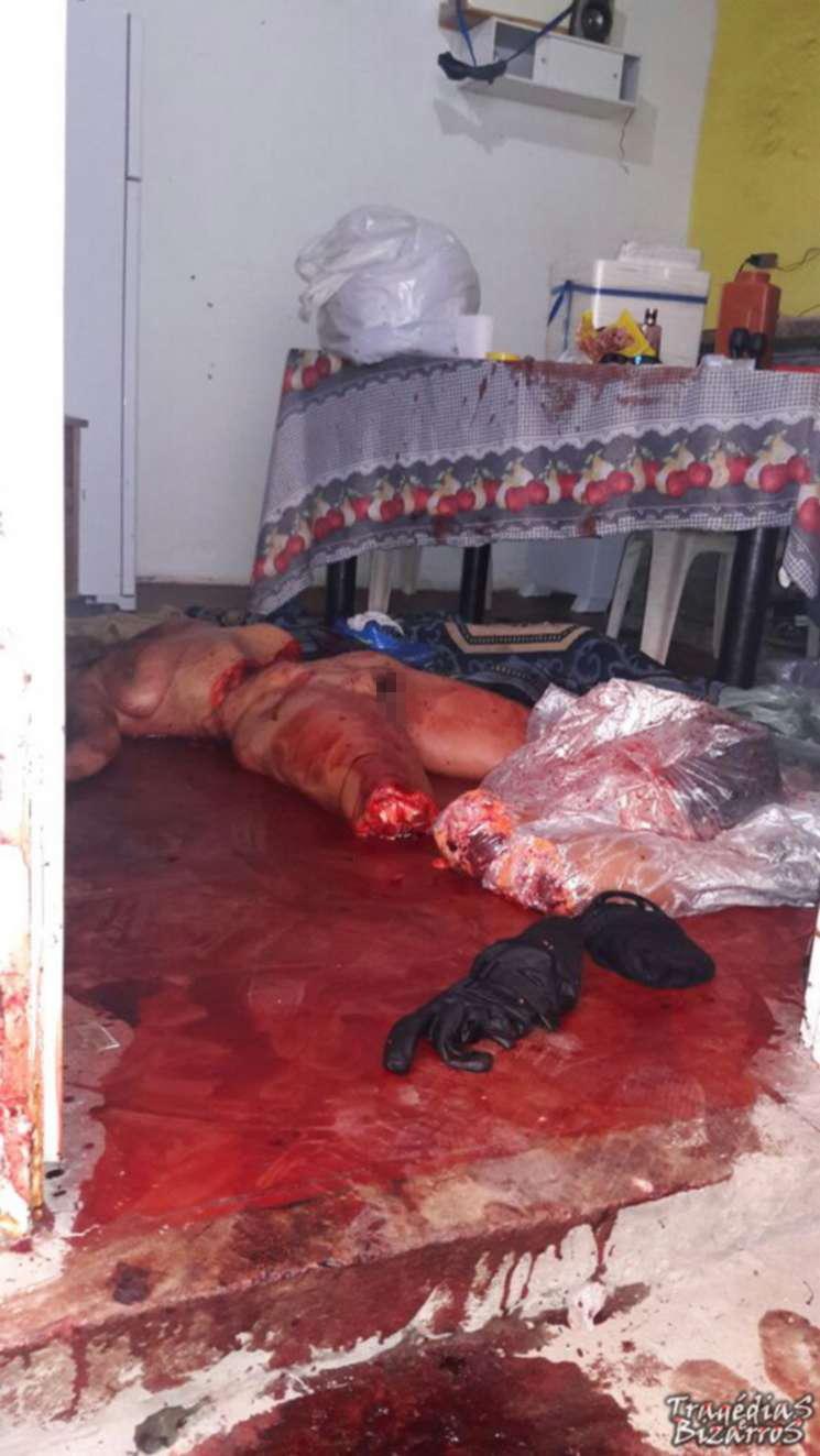 【超閲覧注意】生々しいバラバラ殺人の現場画像ってみた事ある?(画像)・2枚目