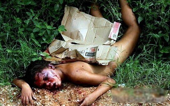 【閲覧注意】ブラジルニキ「レイプ気持ちよかったぁ、、、さてさっさと殺して捨てよっと。」← コレ。(画像)・2枚目