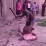 【衝撃】アフリカで妻が浮気するとこうなります。(動画)