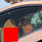 【恐怖】渋滞中に横に止まった車を見たら・・・声上げない自信ある???(画像)