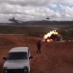 ロシアのロケット発射の軍事訓練で痛恨のミス・・これアカンやろ。(動画)