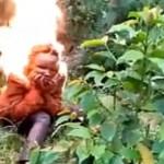 【閲覧注意】殺人犯の少年、アフリカでは焼き殺される模様。(動画)