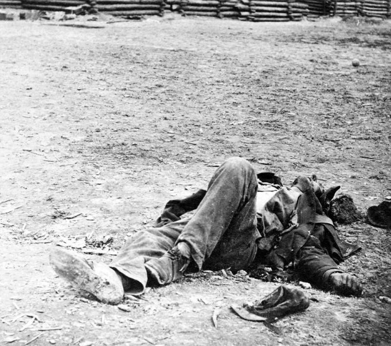 【閲覧注意】「南北戦争」で撮影された捕虜の写真、ISISよりヒドイ・・・(画像)・14枚目