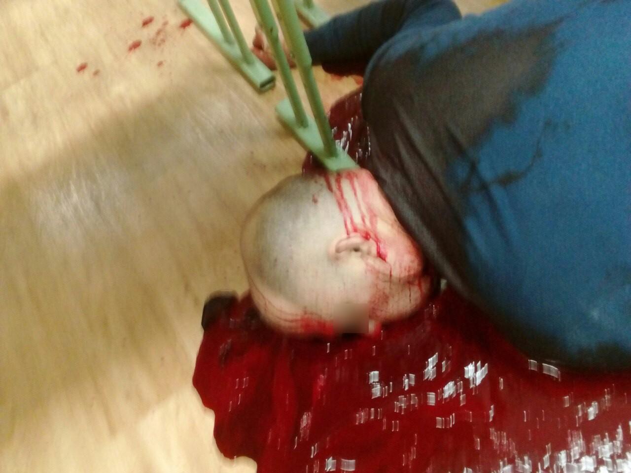 【閲覧注意】教師を殺害した大学生がアップした画像。常軌を逸してる・・・(画像)・5枚目