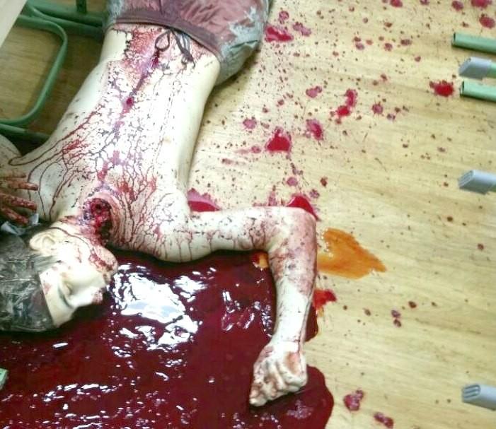 【閲覧注意】教師を殺害した大学生がアップした画像。常軌を逸してる・・・(画像)・9枚目
