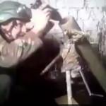 【衝撃】バカ兵士、ロケットを逆に入れその場で爆破する。。(動画)