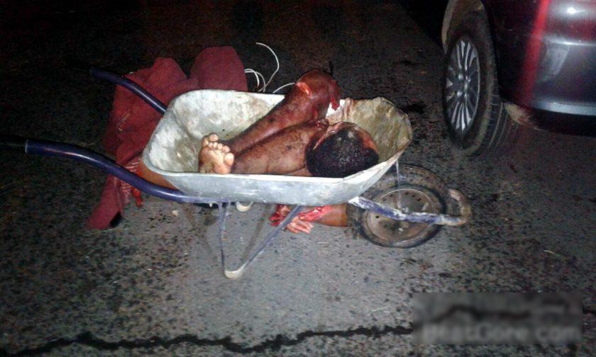 【閲覧注意】ブラジルで「手押し車」に乗せられているモノ・・・(画像)・1枚目