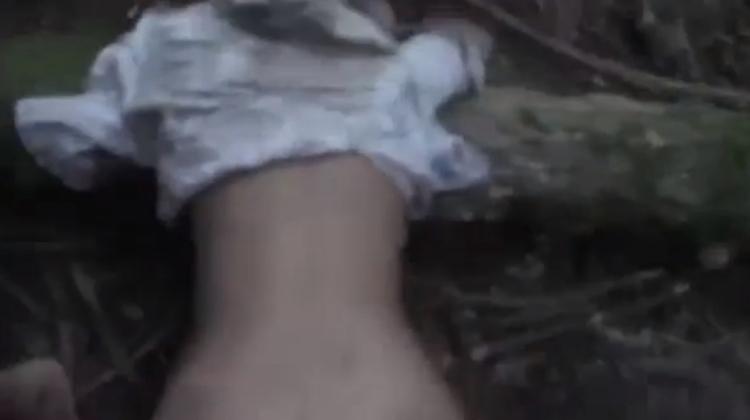 【閲覧注意】森に女性の遺体を2体放置したキチガイの死姦記録映像・・・・12枚目