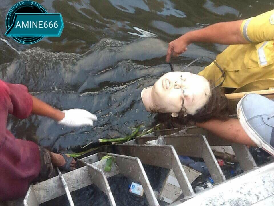 【超閲覧注意】川で発見された女性の遺体がマネキンみたいで不気味すぎる。(動画)・2枚目