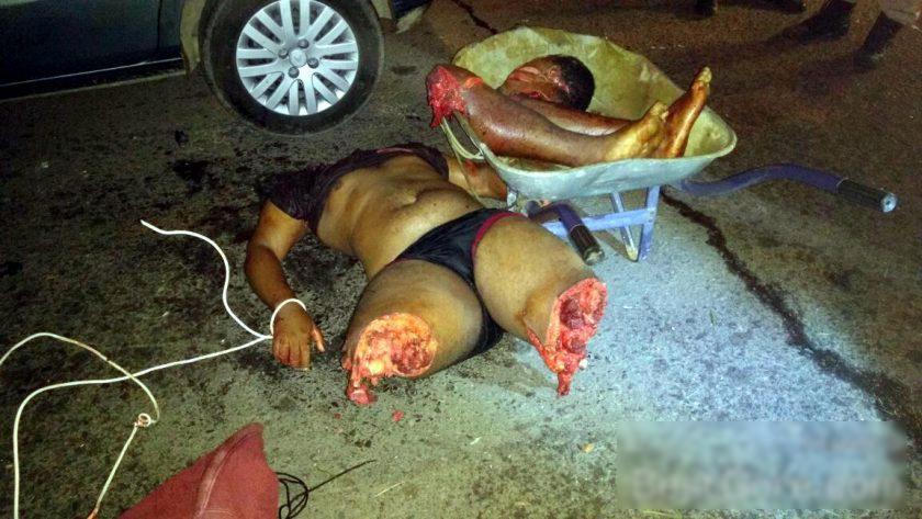 【閲覧注意】ブラジルで「手押し車」に乗せられているモノ・・・(画像)・5枚目