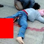 【閲覧注意】トラックに轢かれた人の足の中身が出るという現象ヤバすぎ・・・(画像)
