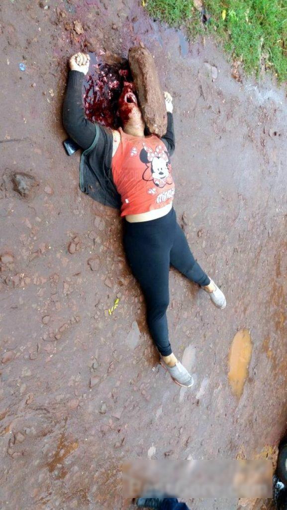 【閲覧注意】頭蓋骨を粉砕された女性の遺体。これはヤバイ・・・(動画)・3枚目