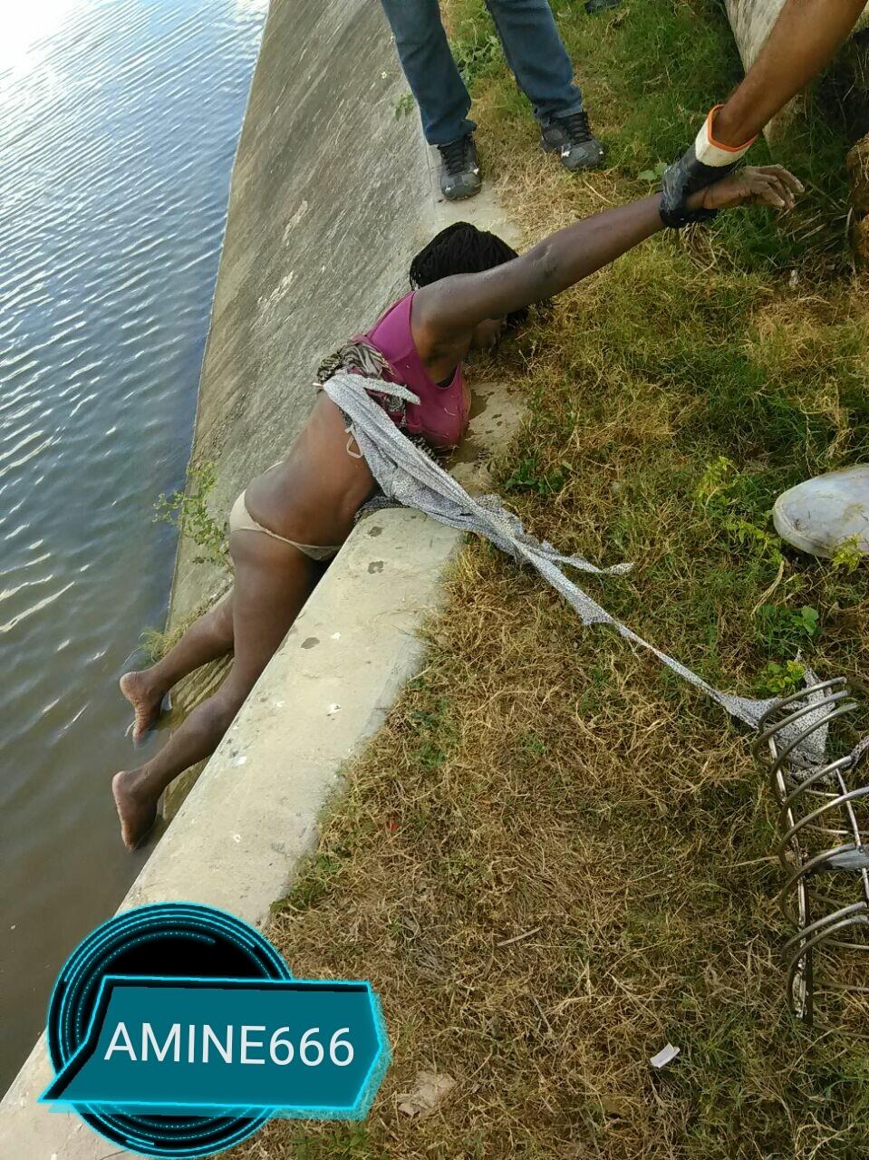 【閲覧注意】溺死した女性が淫らな格好で引き上げられる。。(画像)・3枚目