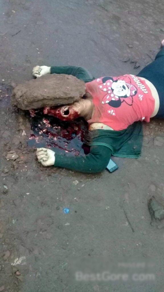 【閲覧注意】頭蓋骨を粉砕された女性の遺体。これはヤバイ・・・(動画)・4枚目