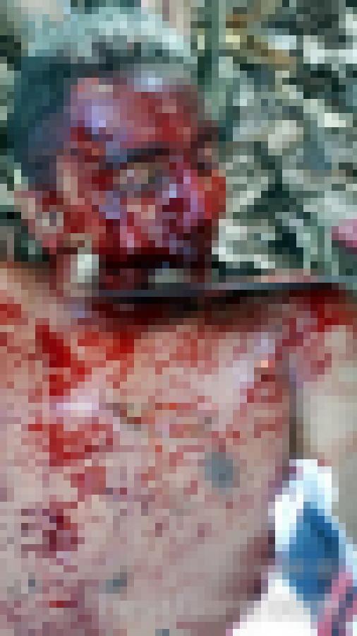【超閲覧注意】ブラジルのギャング、残虐のフルコースを実行する・・・(画像)・6枚目