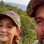 【衝撃】12歳の少女ハンター可愛いけど残酷すぎる。(画像)