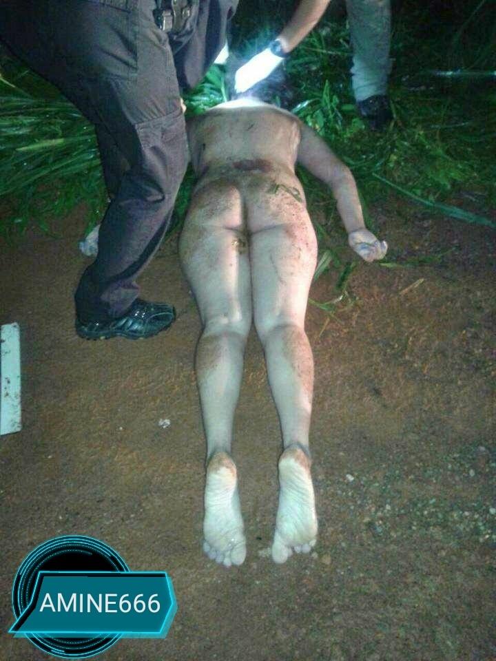 【閲覧注意】性的暴行のあとに絞殺された巨乳の女性をご覧ください。(画像)・3枚目