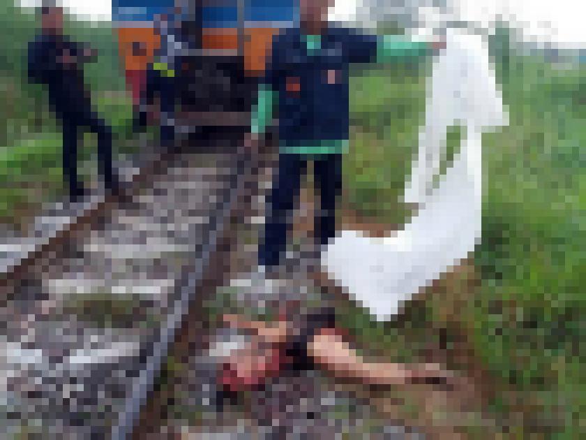【超閲覧注意】列車に轢かれた人、色々部位が足りない・・・(画像)・4枚目