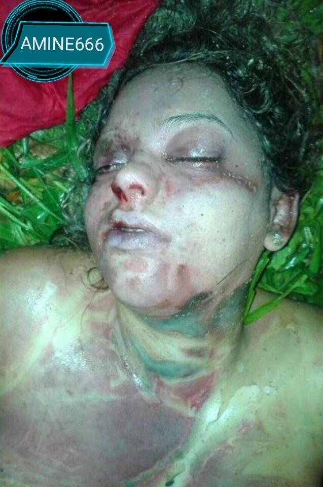 【閲覧注意】性的暴行のあとに絞殺された巨乳の女性をご覧ください。(画像)・5枚目