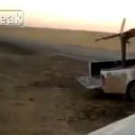 【閲覧注意】「重機関銃」の処刑、一瞬そしてバラバラ・・・(動画)