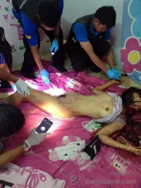 【閲覧注意】レイプされた女性が発見されるが首が皮一枚で繋がっている状態に・・・(動画)・1枚目