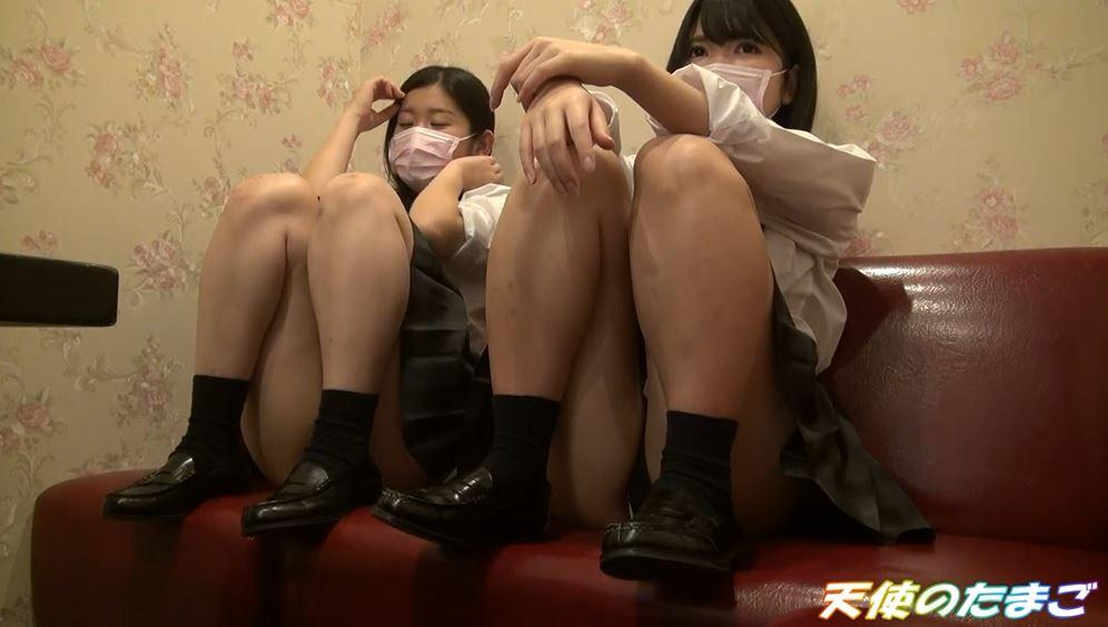 【画像あり】現役女子○生が友達と援○する問題のハメ撮り映像がこちら。・10枚目