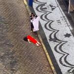 【自殺】全裸の女性が「飛び降り自殺」した結果。。(動画)
