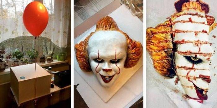【恐怖】ケーキ職人さん、世界一怖いケーキを作ってしまう。(画像)・1枚目