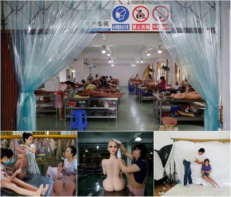 【中国】最新型AI搭載ラブドールの製造工場、こりゃ日本の規模じゃ勝負にならんよなwwwwww(画像)・1枚目