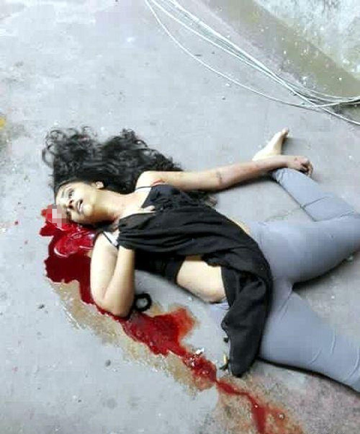 【閲覧注意】マレーシアの16歳美少女、飛び降り自殺で色々ブチ撒けてしまう・・・・・(画像)・2枚目
