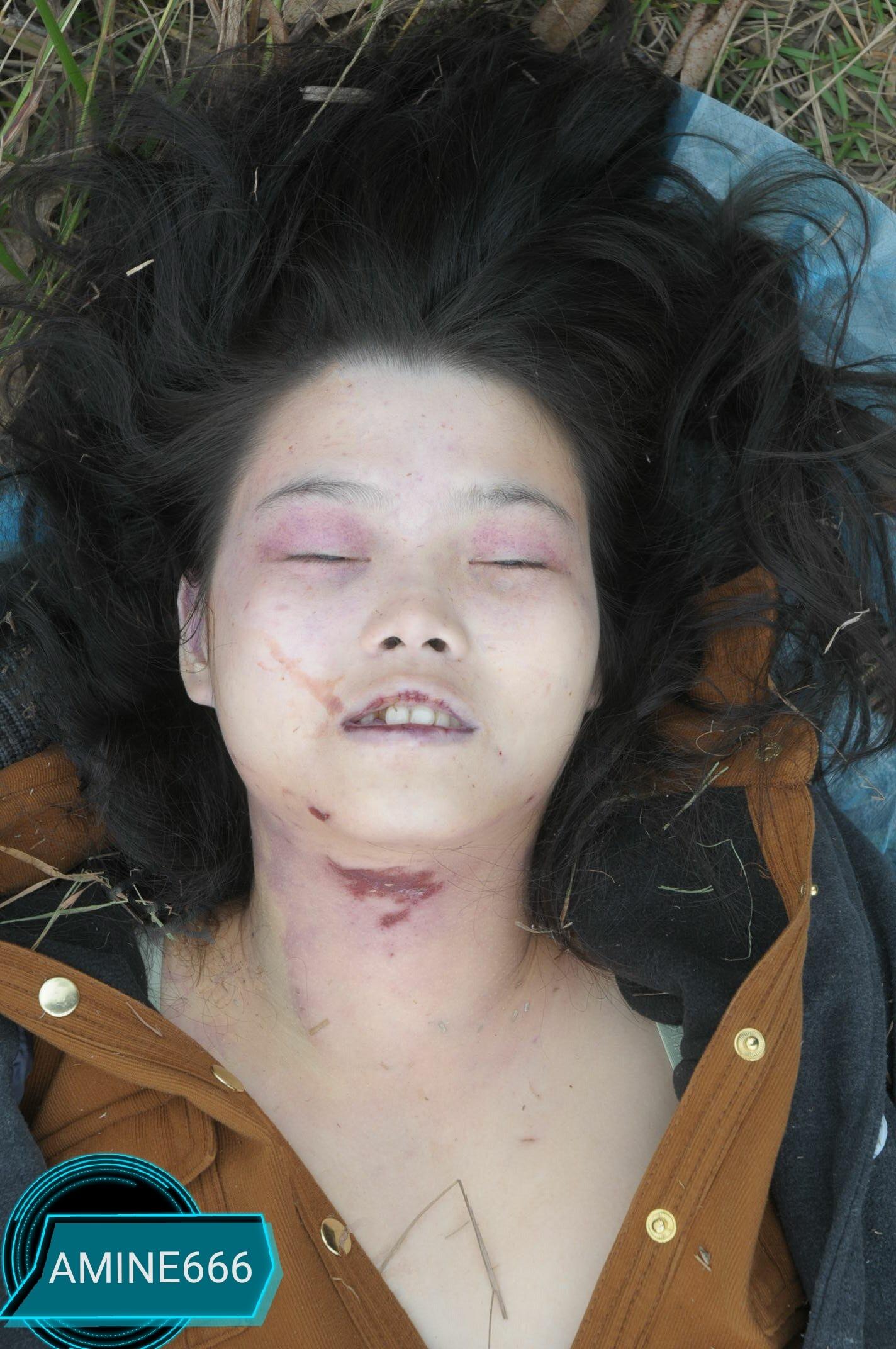 【遺体注意】草むらでレイプされた後絞殺された中国人少女、その場で検視されてる画像がヤバい・・・・・(画像)・6枚目