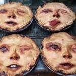 【怖過ぎ】海外ゾンビマニアが焼いたリアル過ぎる人顔ケーキ、頭のネジぶっ飛んでてワロタwwwwwww(画像、動画)