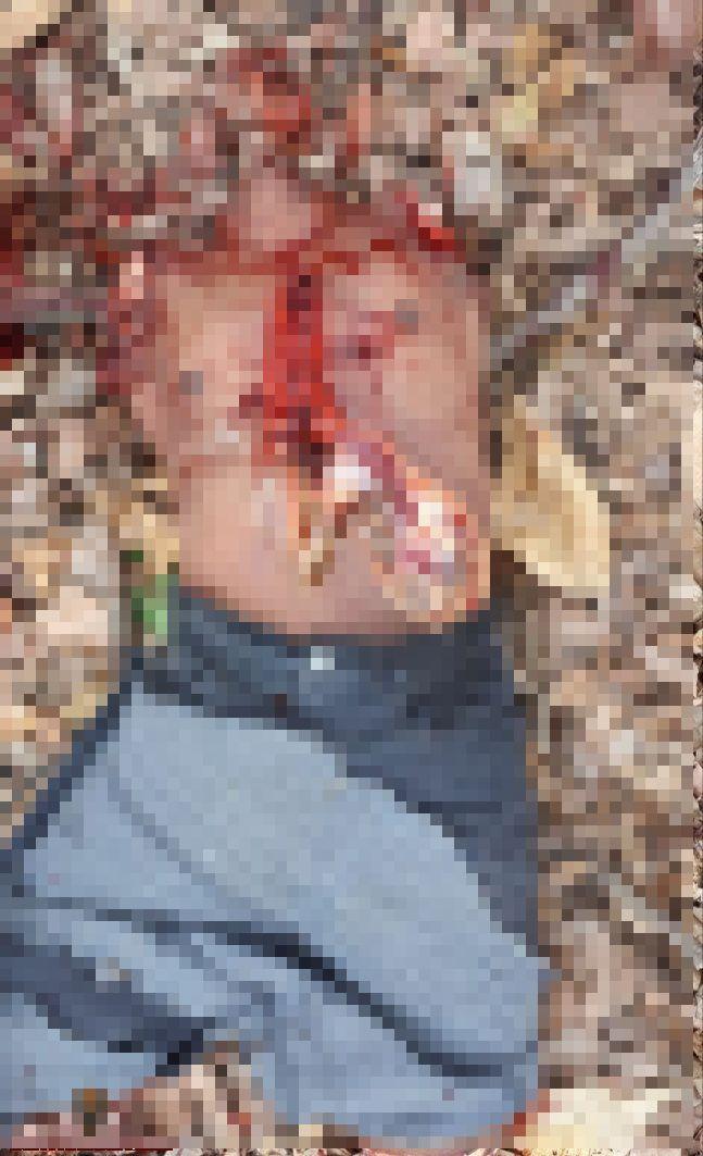 【閲覧注意】誤って赤ちゃんを撃ってしまったブラジルギャングの男、グループから追放されバラバラに処刑される・・・・・(画像)・5枚目