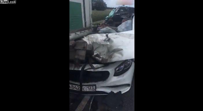【自業自得】無理な追い越し掛けたおっさん、対向車はギリギリ避けるも側道にハミ出て即死・・・・・(画像、動画)・4枚目