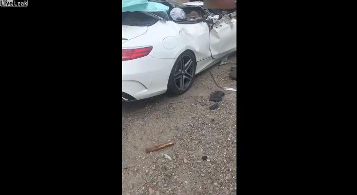 【自業自得】無理な追い越し掛けたおっさん、対向車はギリギリ避けるも側道にハミ出て即死・・・・・(画像、動画)・5枚目