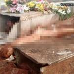 【マジキチ】ブラジルの屍姦愛好家、32歳女性のフレッシュな遺体を葬儀直後に掘り起こす・・・・・(画像)