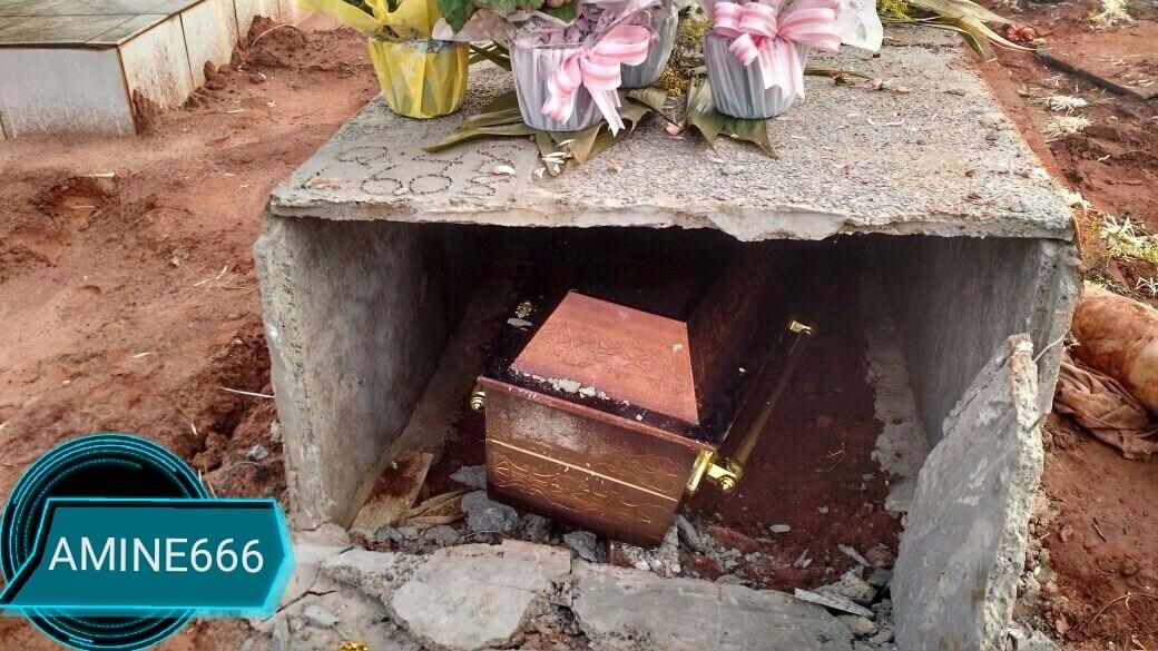 【マジキチ】ブラジルの屍姦愛好家、32歳女性のフレッシュな遺体を葬儀直後に掘り起こす・・・・・(画像)・2枚目