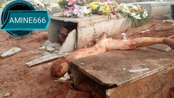 【マジキチ】ブラジルの屍姦愛好家、32歳女性のフレッシュな遺体を葬儀直後に掘り起こす・・・・・(画像)・4枚目