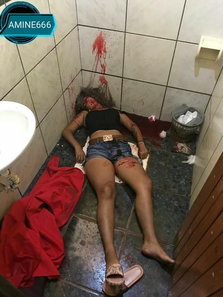 【衝撃】バーのトイレで彼氏に射殺された女性、顔面ぐちゃぐちゃ・・・・・(画像)・6枚目