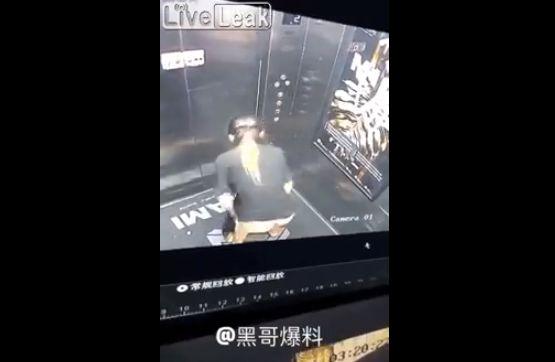 【迷惑行為】膀胱が限界に達したまんさん、エレベーターの中で・・・・・(動画)・1枚目