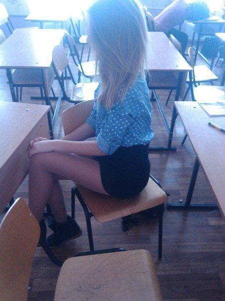 【盗撮天国】ロシアの学校の日常風景、ピッチリ美人率高過ぎ!!・16枚目