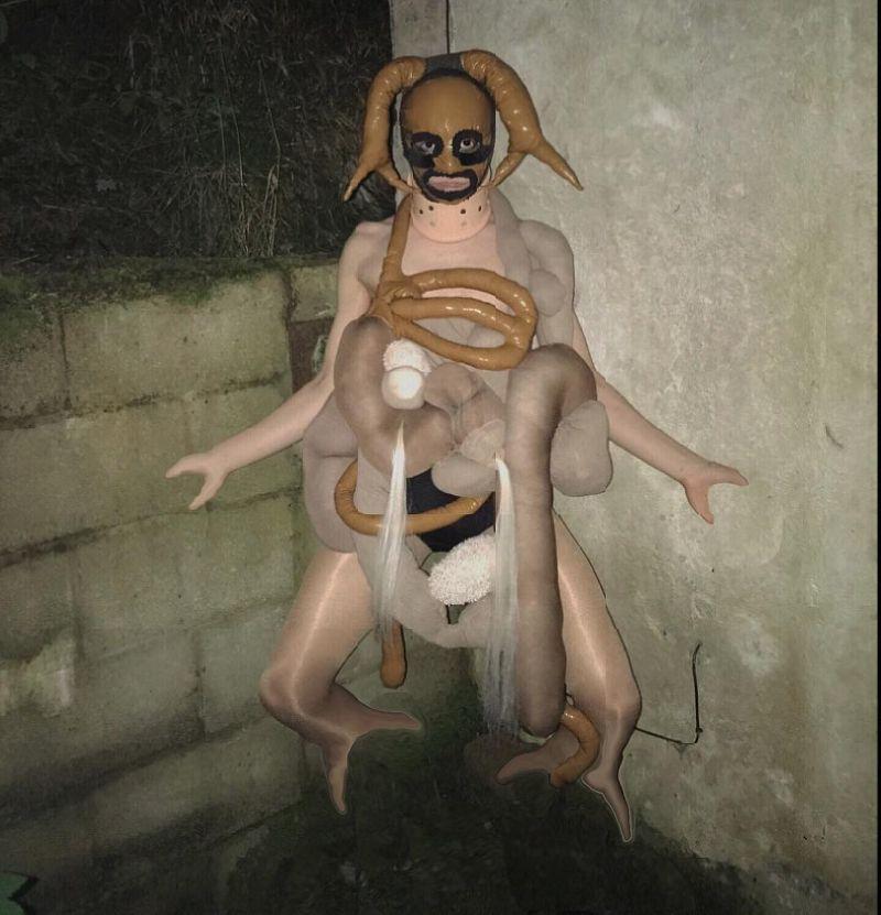 【閲覧注意】特殊メイクを駆使して自らもモンスター化した女性、怖過ぎ・・・・・(画像)・4枚目