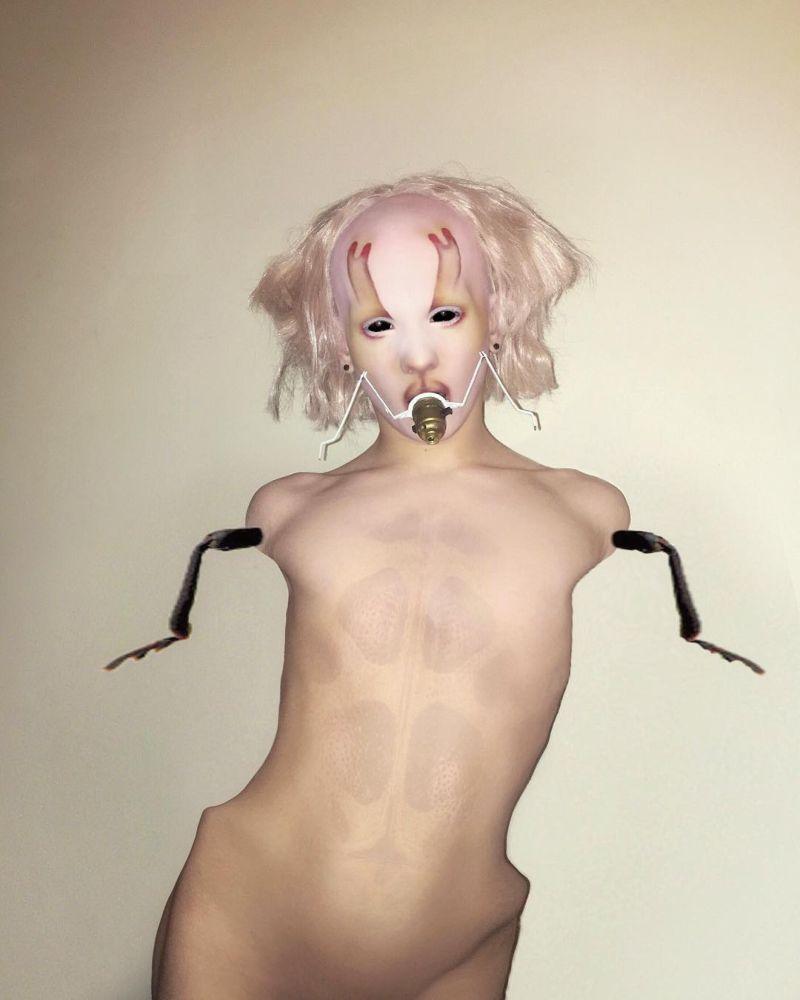【閲覧注意】特殊メイクを駆使して自らもモンスター化した女性、怖過ぎ・・・・・(画像)・13枚目