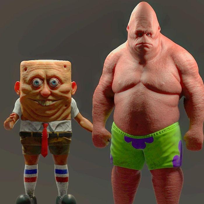 【怖過ぎ】3Dアーティストが本気で描いたアニメキャラ、これ子供泣くだろ・・・・・(画像)・4枚目