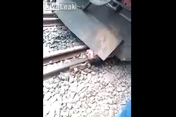 【奇跡】インドで列車に轢かれた男性、この状態からまさかの生還sugeeeeeee!!・1枚目