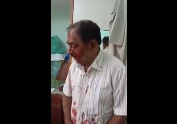 【衝撃】遺産相続で揉めて息子にぶん殴られた父親、ガチで目ん玉が飛び出す・・・・・(動画)・2枚目